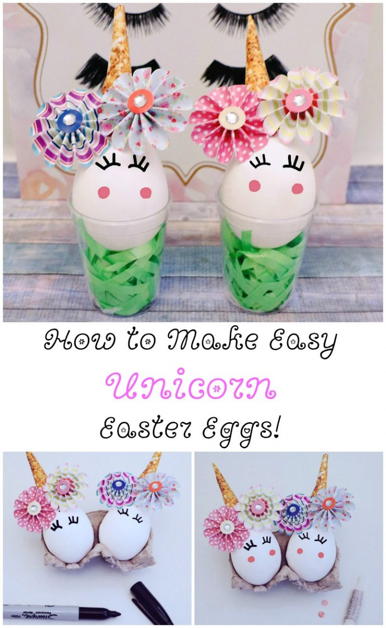 How to Make Unicorn Easter Eggs – Quick and Easy Unique Unicorn Craft
