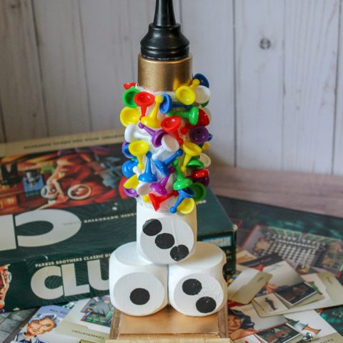 DIY Family Game Night Trophy
