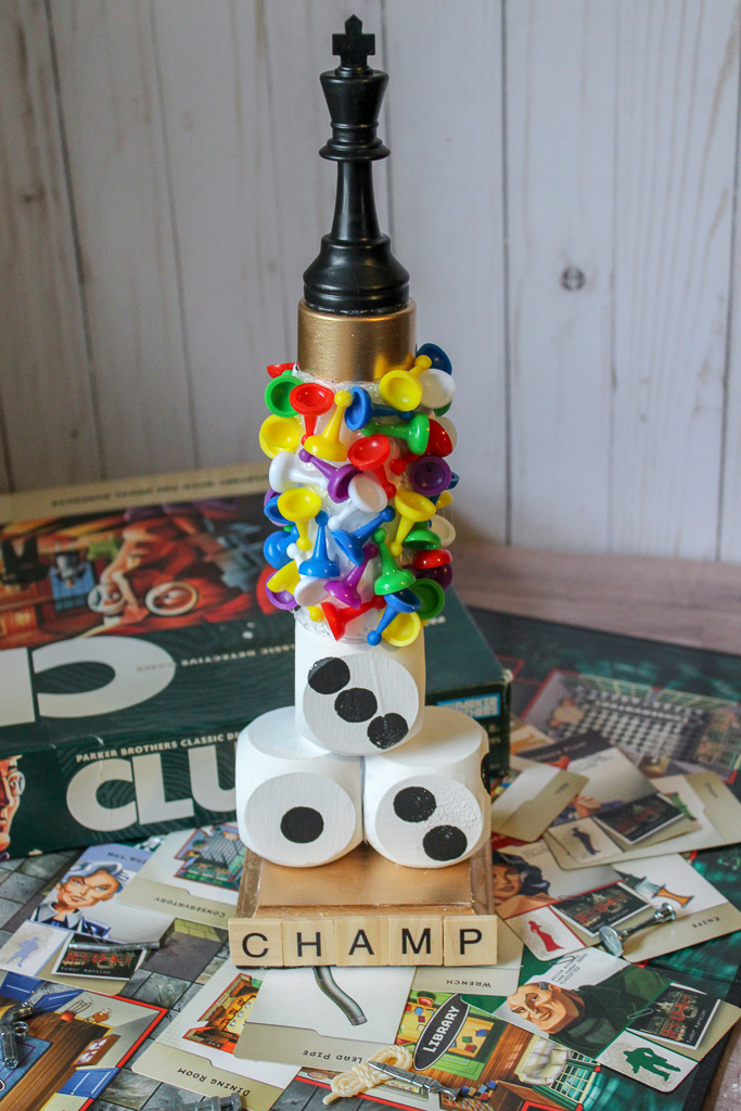How to Make a Family Game Night Trophy DIY