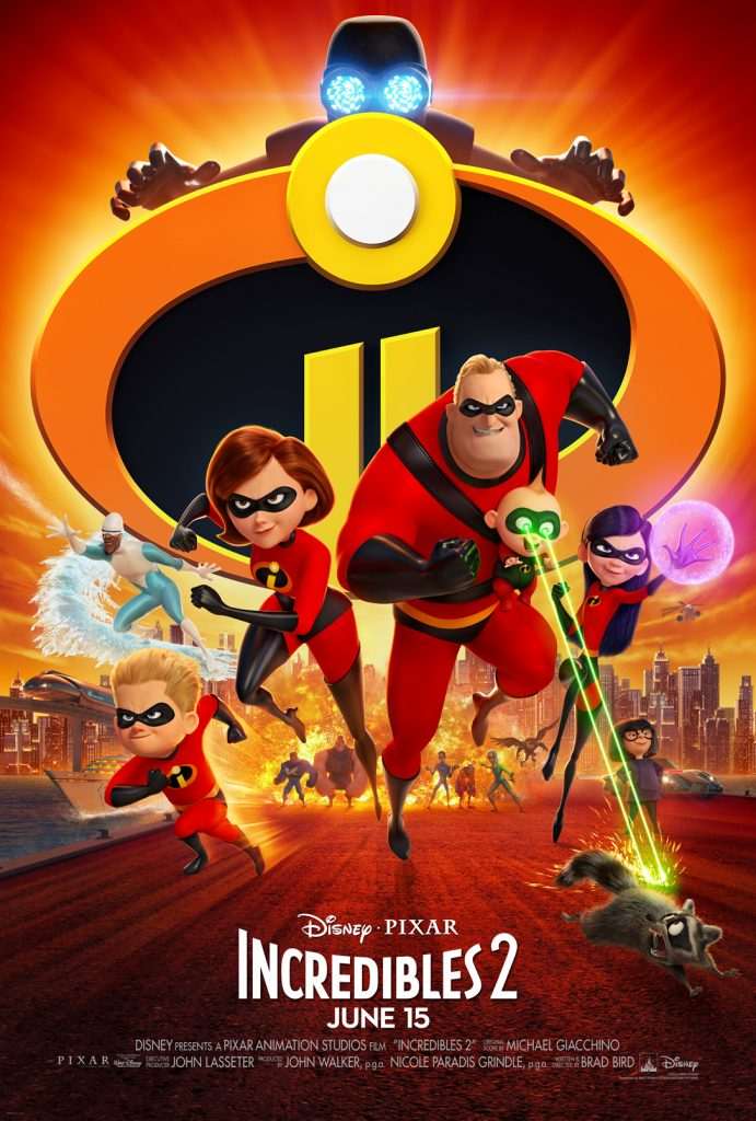 Incredibles 2 New Poster