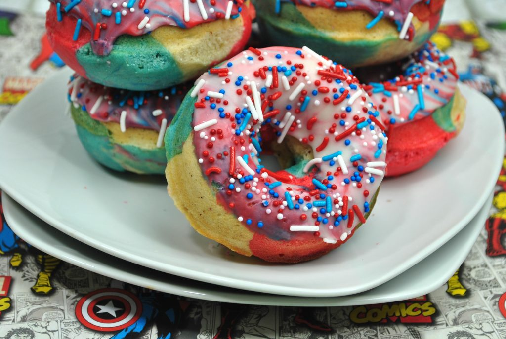 DIY Superhero Donuts