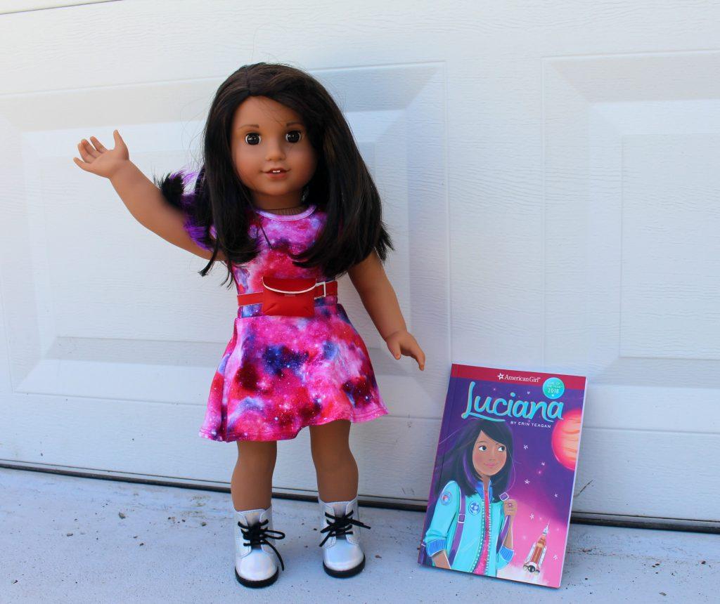 New American Girl doll Luciana