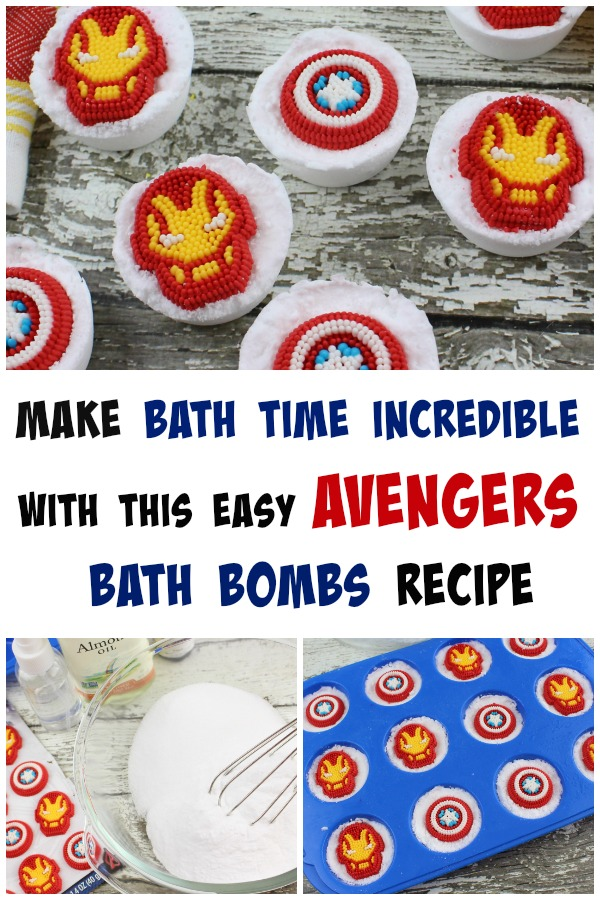 Avengers Bath Bomb Recipe