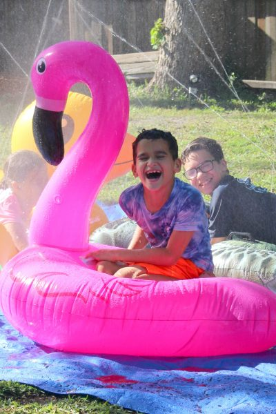 Plan the Happiest Playdate with Pool Float Musical Chairs