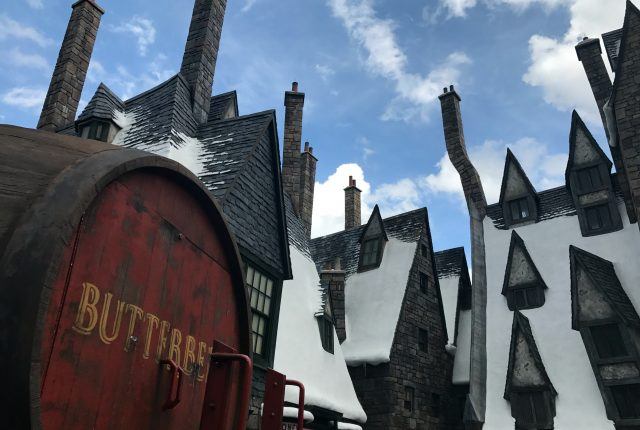 Butterbeer at Wizarding World of Harry Potter