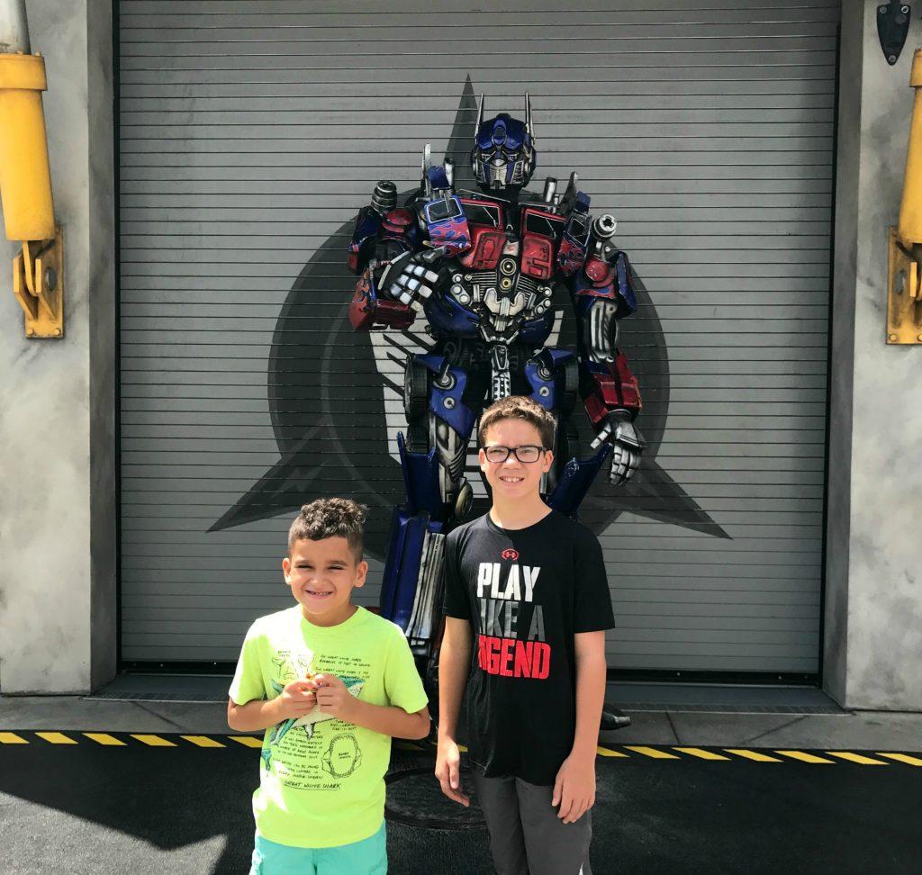 Characters at Universal Studios Orlando