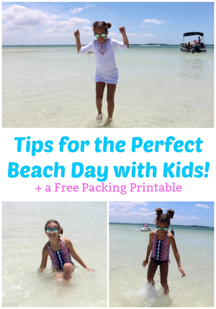 Tips for the Perfect Beach Day with Kids