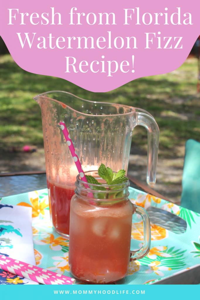 Fresh From Florida Watermelon Fizz Beverage Recipe