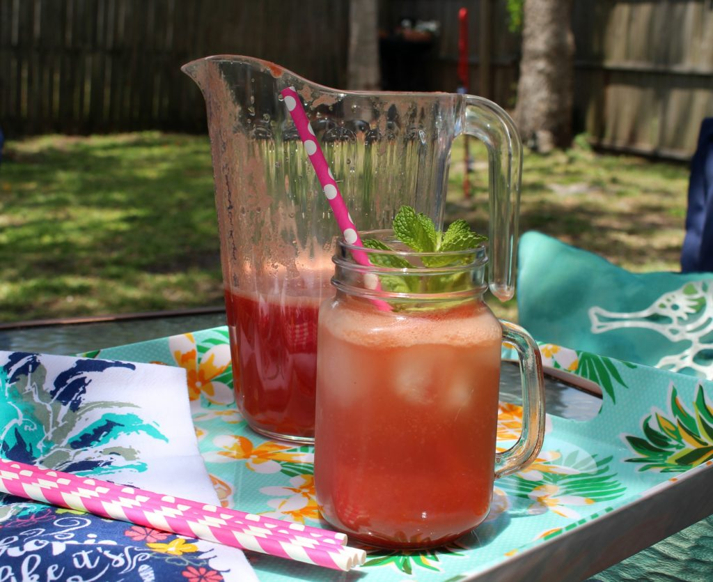 Fresh from Florida Watermelon drink recipe