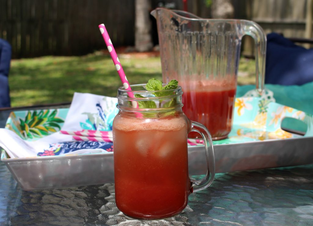 Fresh from Florida Watermelon fizz recipe