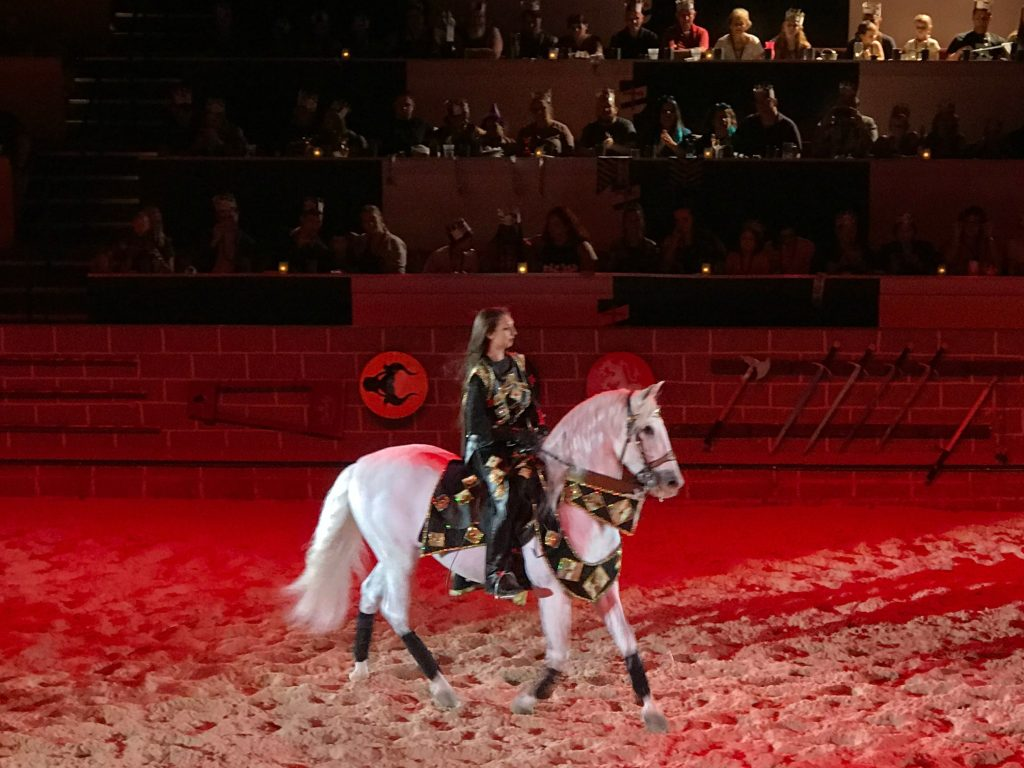 White Horse dance at Medieval Times Orlando