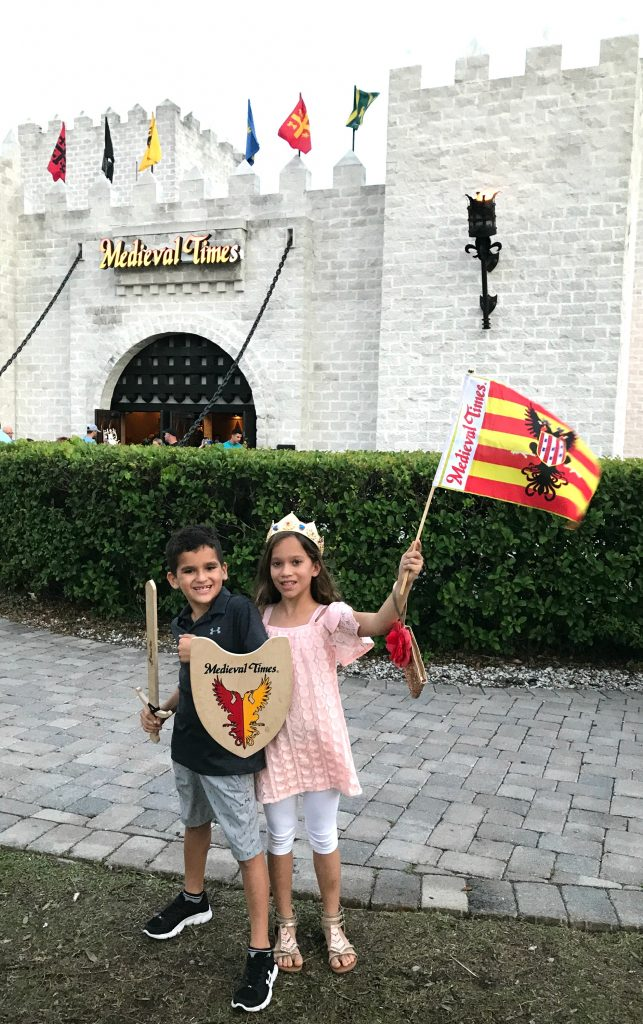 Castle at Medieval Times Orlando