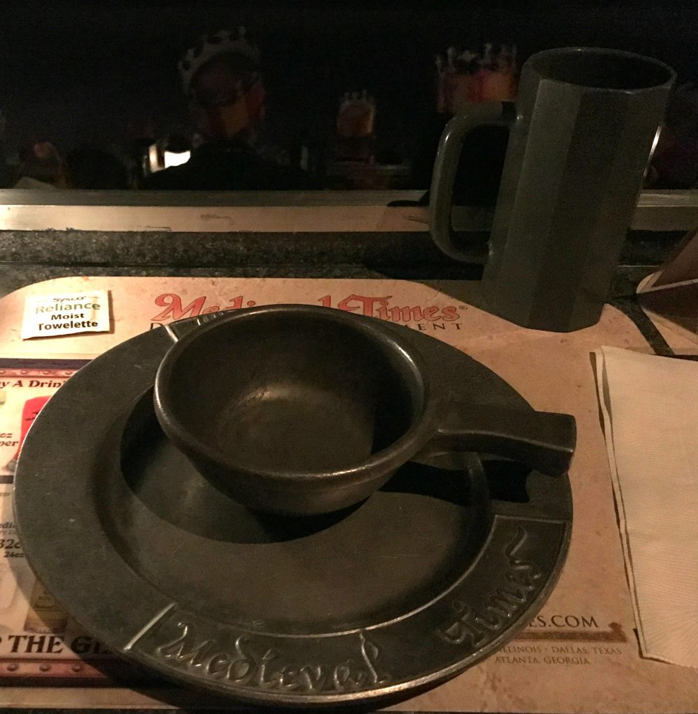 Eating at Medieval Times Orlando