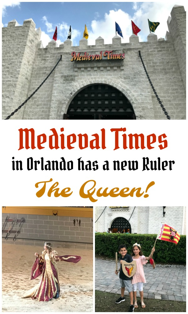 Medieval Times Orlando New Ruler the Queen