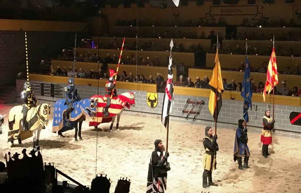 Horses at Medieval Times Orlando