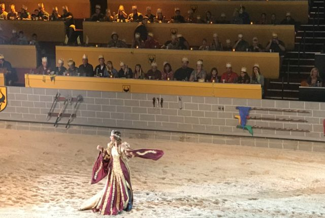 New Ruler at Medieval Times Orlando the Queen
