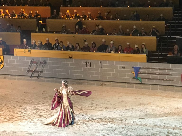 There's a New Ruler at Medieval Times Orlando, The Queen!