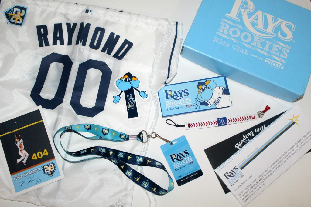 Tampa Bay Rays Rookies Kids Club Package
