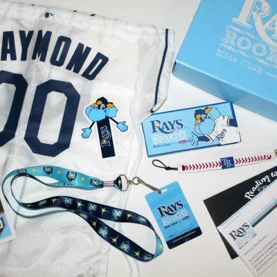 Tampa Bay Rays Rookies Kids Club Package