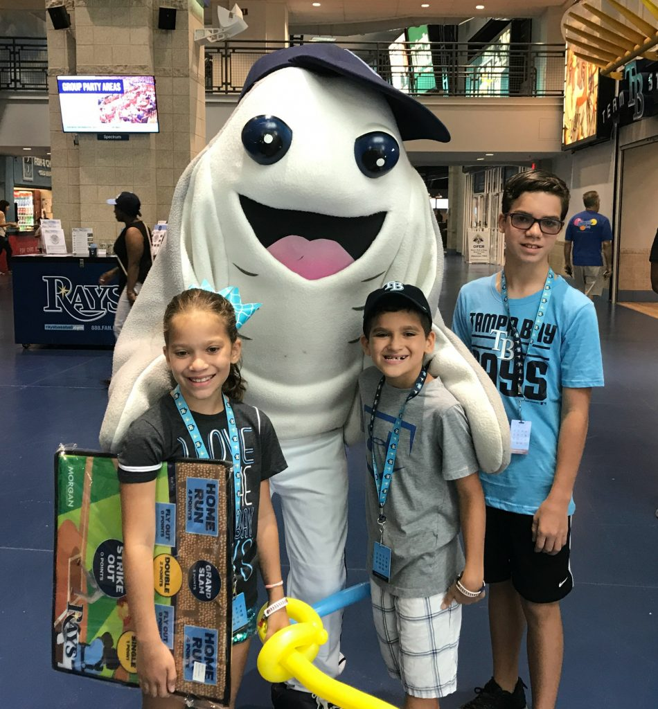 Tampa Bay Rays Family Fun Day activities
