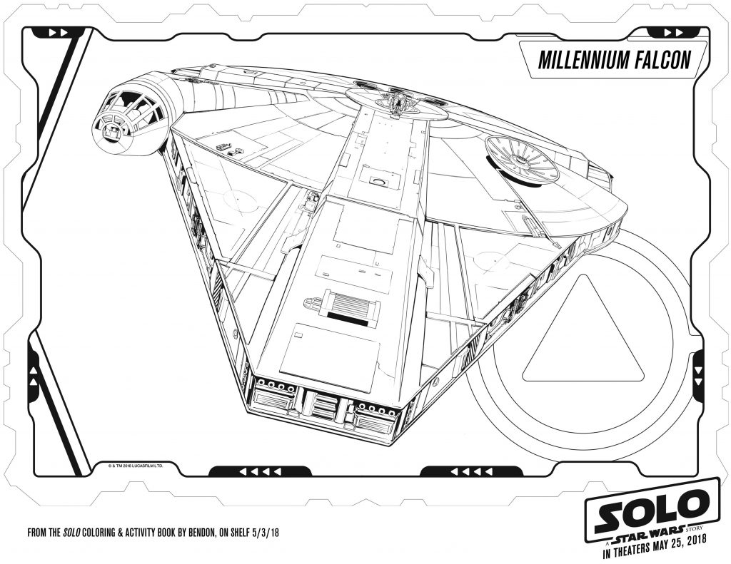 Star Wars Printable coloring Pages SOLO
