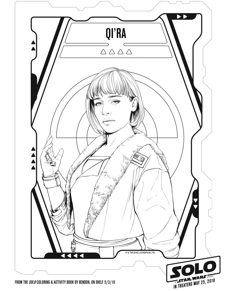 Star Wars Printable coloring Pages SOLO Free