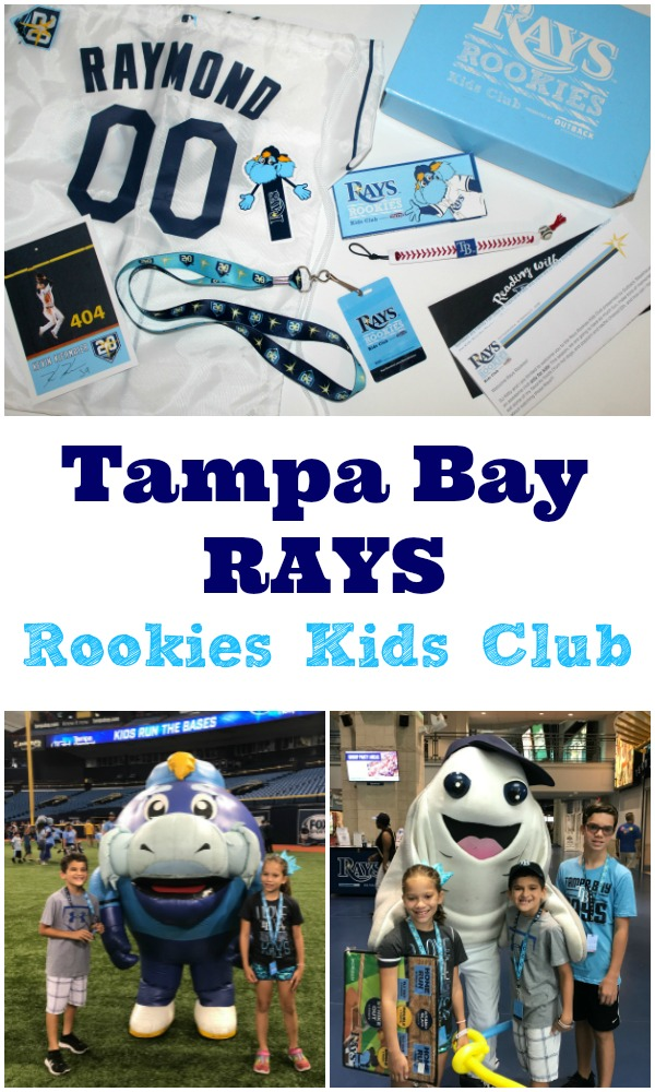 Tampa Bay Rays Rookie Kids Club
