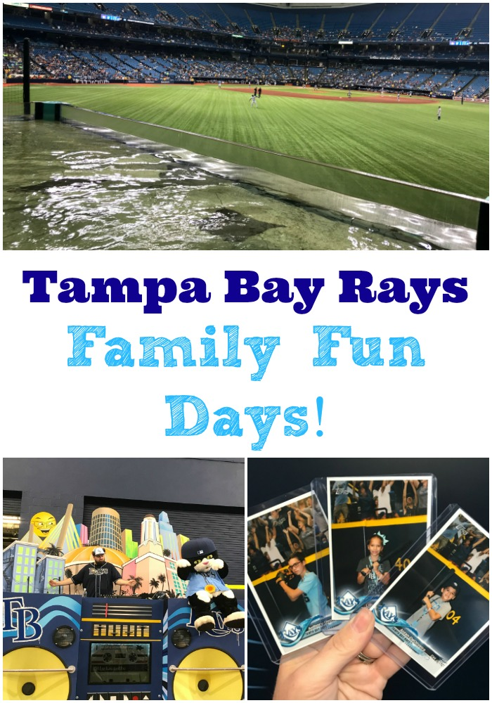 Tampa Bay Rays Family Fun Day