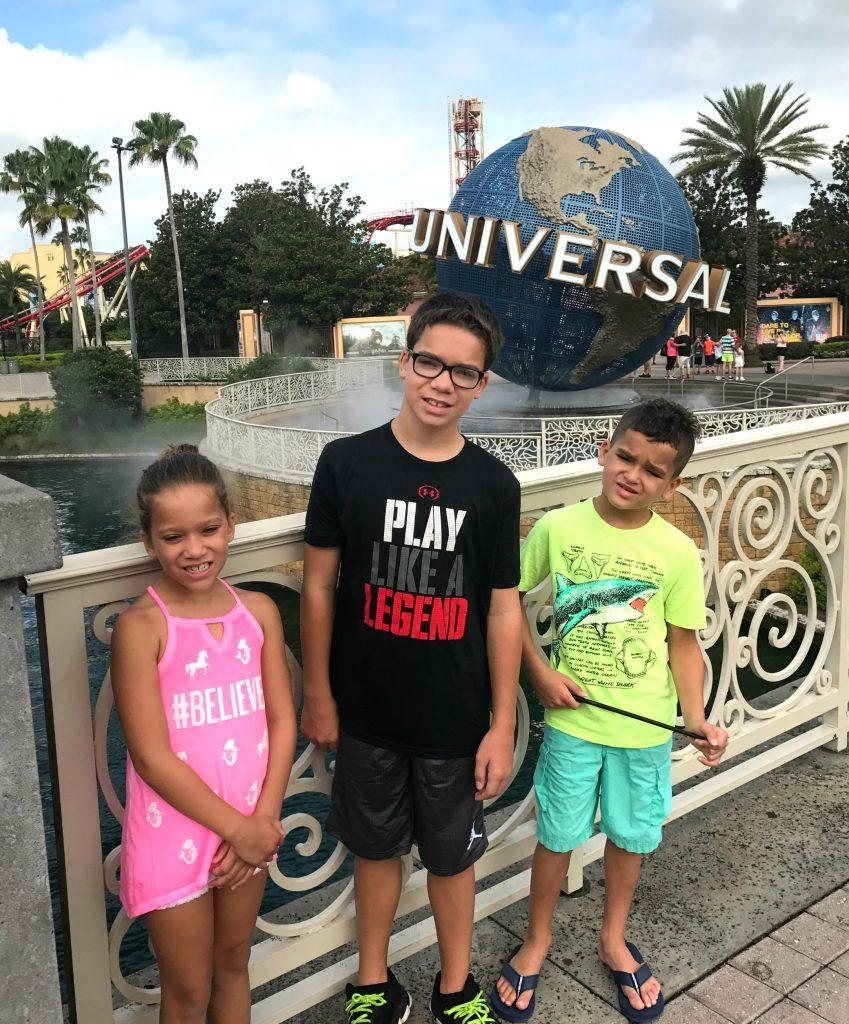 Visiting Universal Studios Orlando Florida