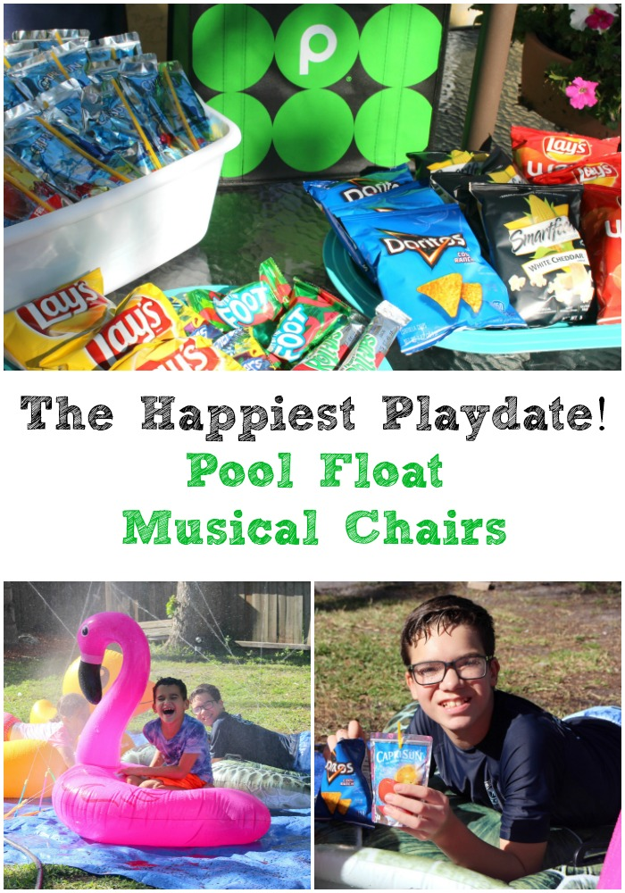 Pool Float Musical Chairs Happiest Playdate