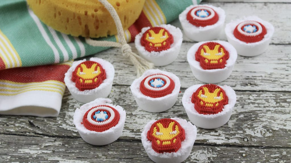 Easy Avengers Bath Bomb Recipe
