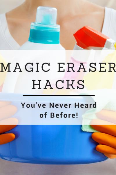 New Magic eraser Uses