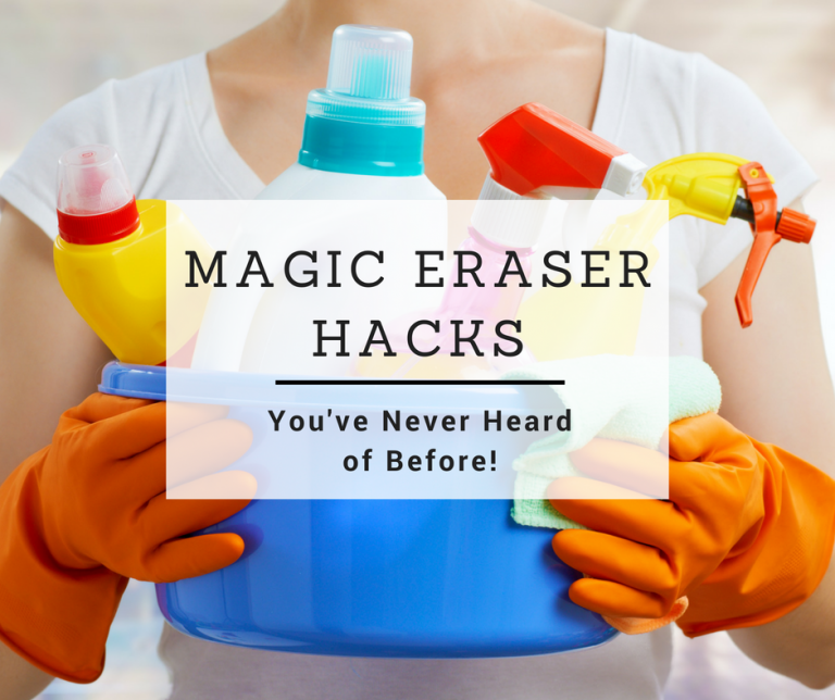 20 Magic Eraser Uses and Hacks You've Never Heard Of