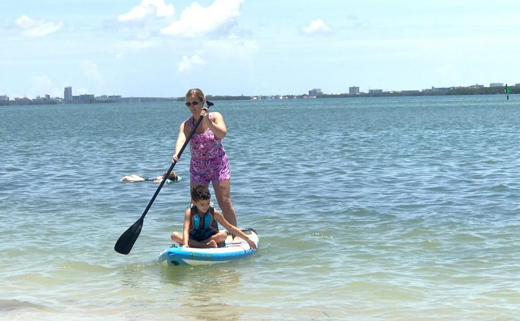 inflatable paddle boards for families
