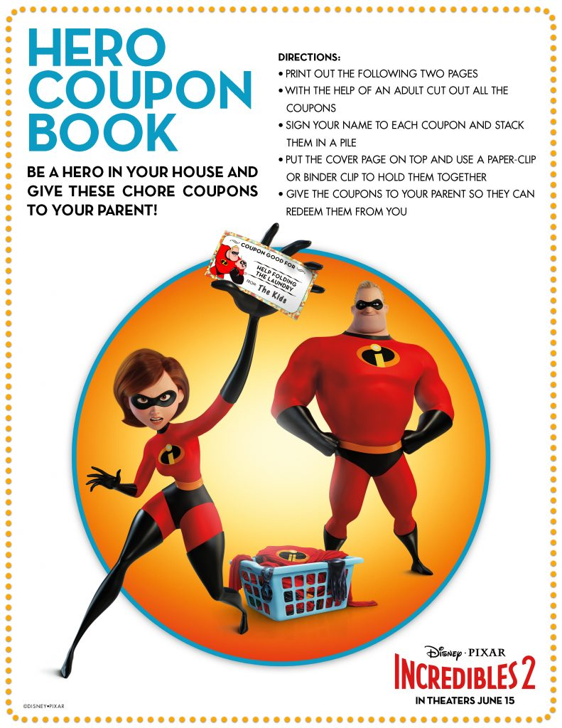 Incredibles2-Printable-coupon Book