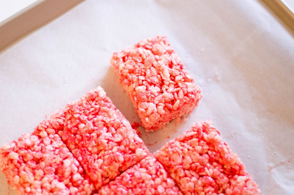 DIY Incredibles 2 Red Rice Krispies Treats Recipe