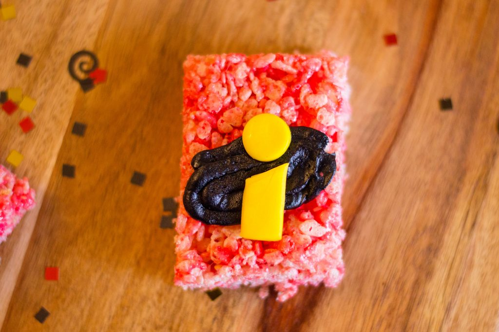 DIY Incredibles 2 Rice Krispies Recipe