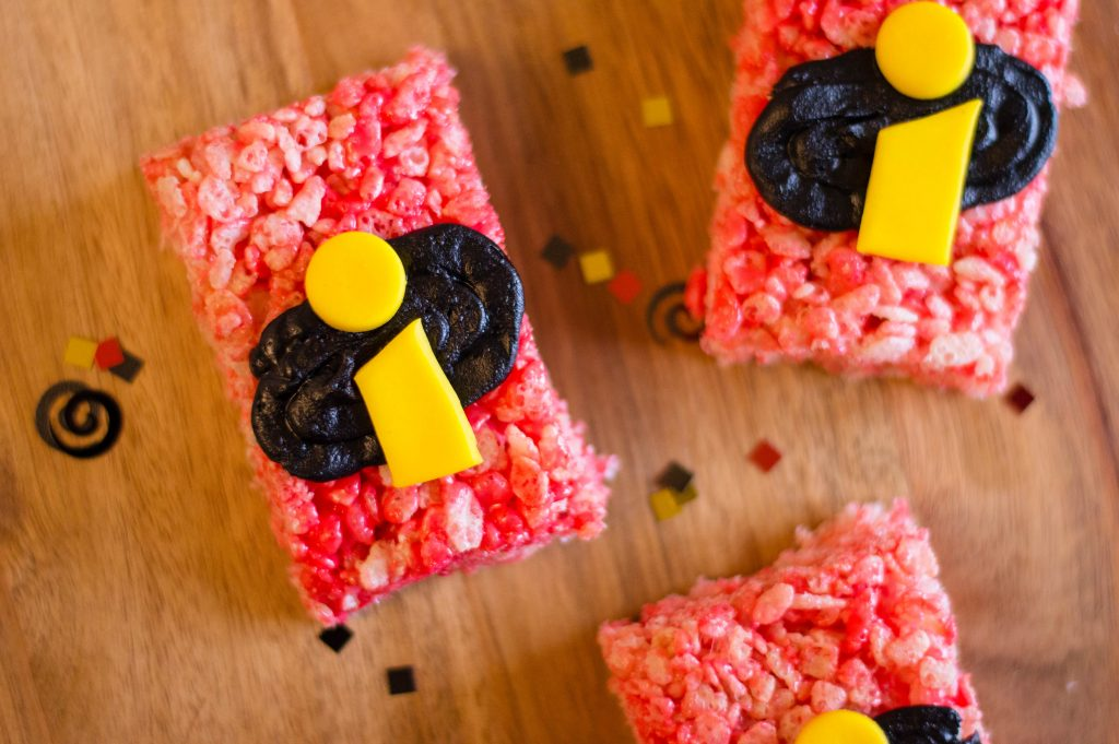 DIY Easy INCREDIBLES 2 Rice Krispies Treats Recipe