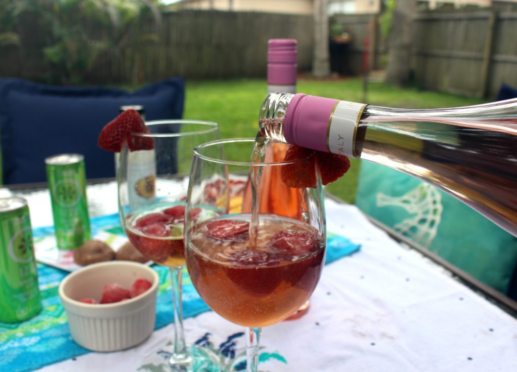 Cool Cocktails Rose' Fruit Recipe