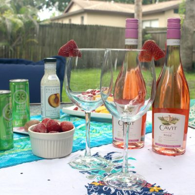 Cool Cocktails Rose' Spritzer Recipe