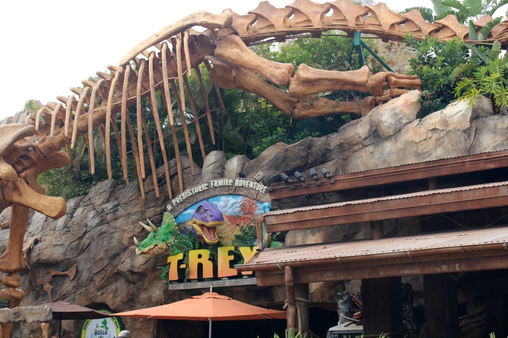 Food at Disney Springs T-Rex