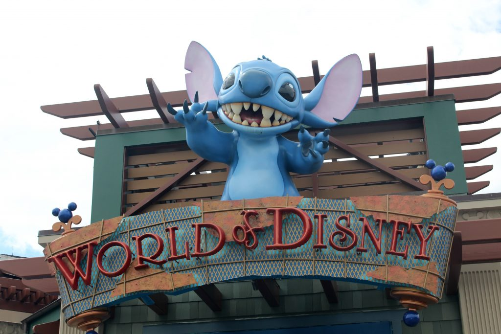 World of Disney Stitch at Disney Springs