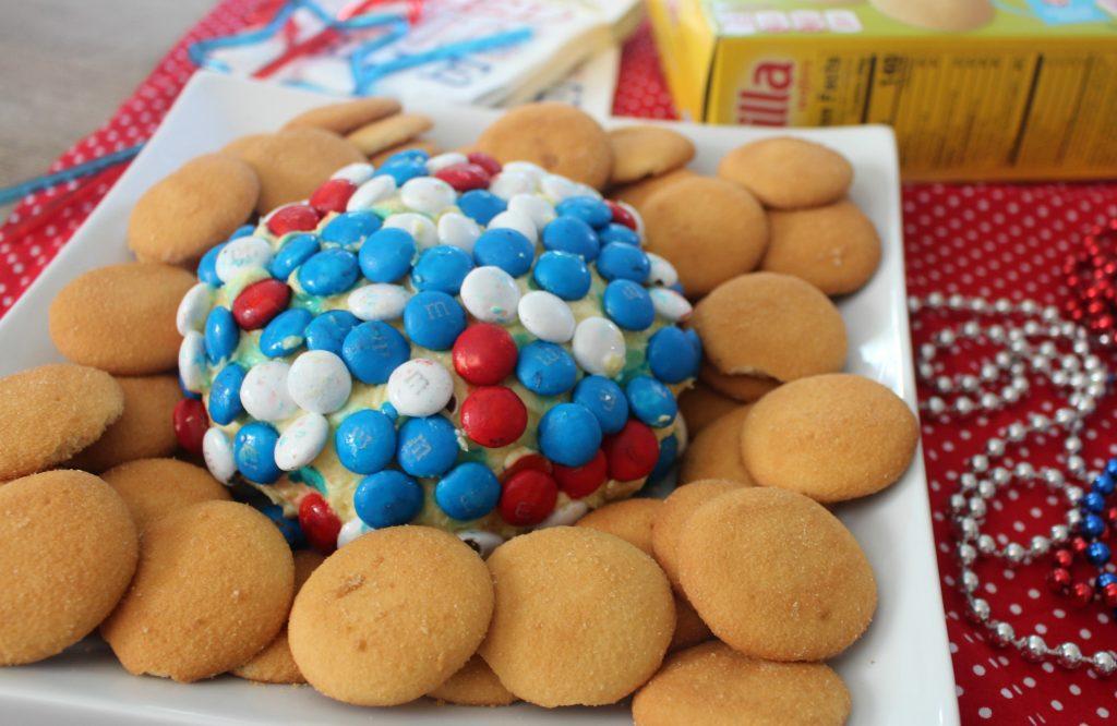 No-Bake Cheesecake Dip Cheese Ball