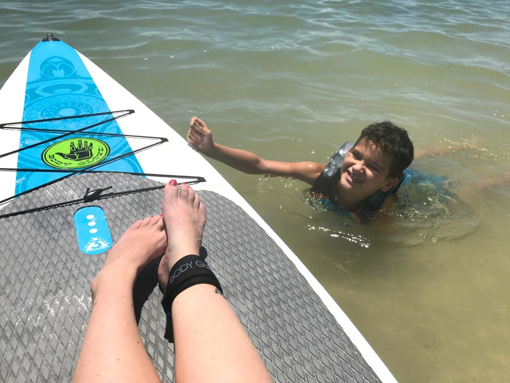 inflatable Padding Board with Family
