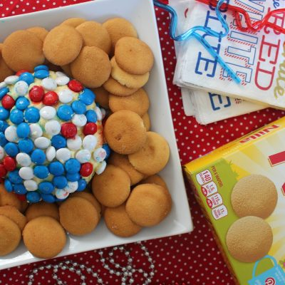 No-Bake Cheesecake Dip Ball