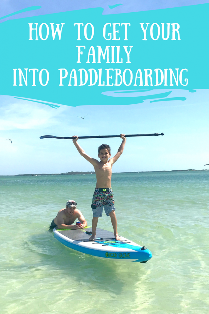 Family Paddleboarding with inflatable paddle boards