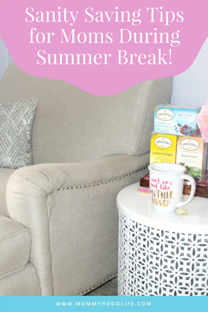 Sanity Tips for Summer Break