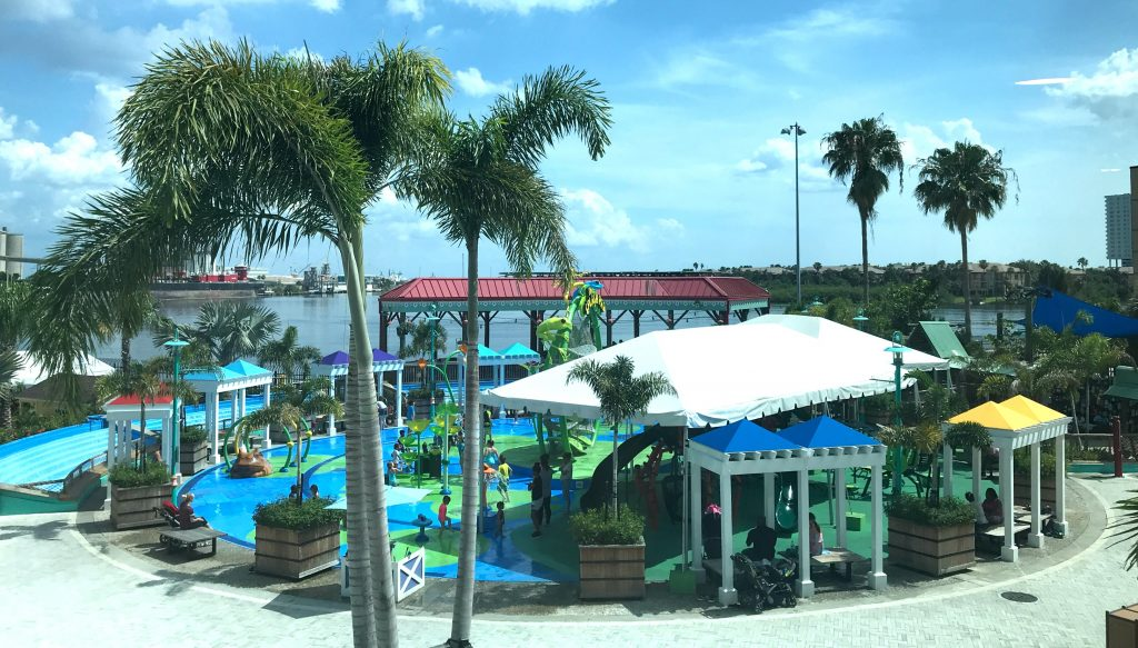 The Florida Aquarium Splash Pad and Playground