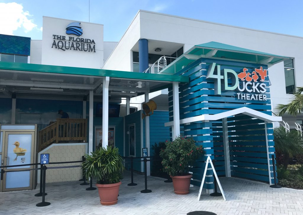 4D Theater in Tampa The Florida Aquarium