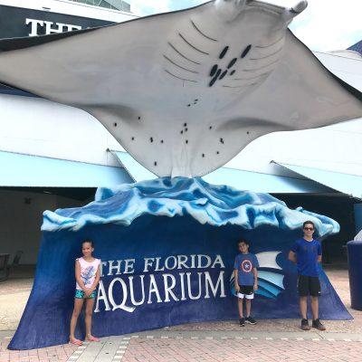 the florida aquarium family tampa
